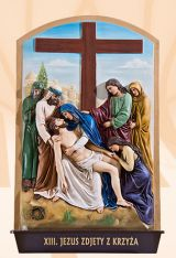 The Stations of the Cross, Kod: 240K, Wymiary: 56x90 cm
