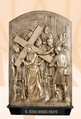 The Stations of the Cross, Kod: 240W, Wymiary: 56x90 cm