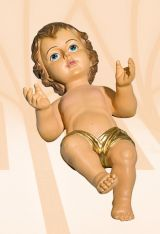 The Infant Jesus, Kod: 348K, Wymiary: 17 cm