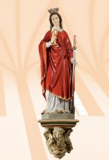 Candle Holders and Statue Niches, Kod: 969K + 826K, Wymiary: 36x36x31 cm - 105 cm